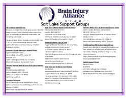 Brain Injury Support Groups
